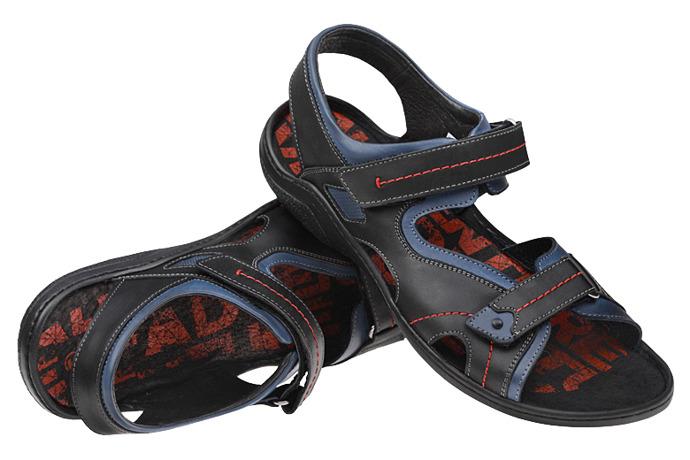 Sandały buty KRISBUT 1154-2-1 Czarne