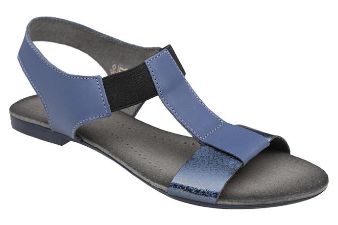 Sandały damskie VERONII 3495 Granatowe