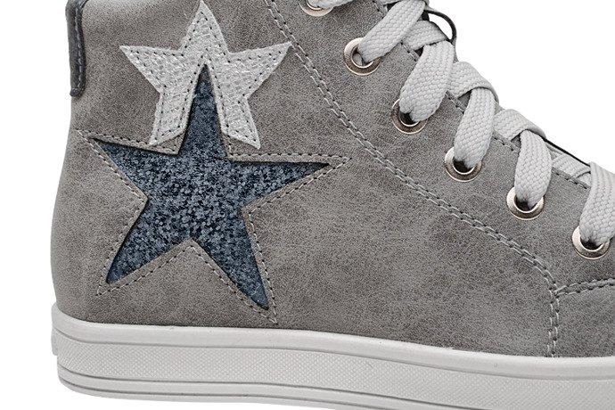 Sneakersy Trzewiki KORNECKI 6146 Popielate nieocieplane