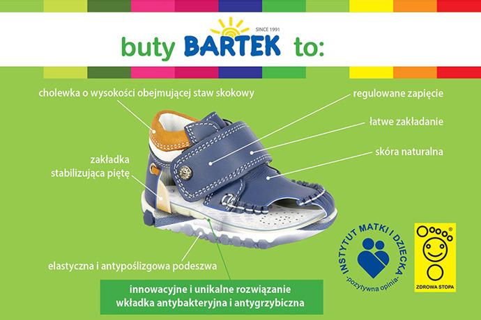 Trzewiki nieocieplane buty BARTEK 11703 Granatowe