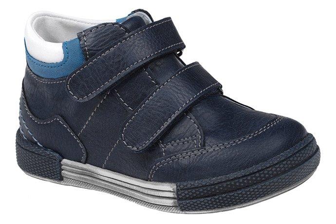 Trzewiki nieocieplane buty KORNECKI 4666 Granatowe