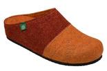 Kapcie Dr BRINKMANN 320454-62 Rudy Brąz Pantofle domowe Ciapy