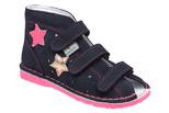 Kapcie profilaktyczne buty DANIELKI TA125 TA135 Granat Fuksja