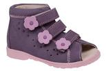 Sandałki Profilaktyczne Ortopedyczne Buty DAWID 1041 Fiolet FJ