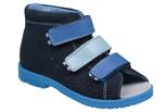 Sandałki Profilaktyczne Ortopedyczne Buty DAWID 1041 Granat GN-II